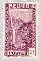 Reunion 126 MNH Falls 1933 (BP39210) - Reunion Island (1852-1975)
