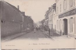 Rare Cpa VIERZON - Rue Etienne Marcel - Vierzon