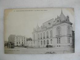 BOULOGNE SUR SEINE - La Salle Des Fêtes (animée Avec Tramway) - Boulogne Billancourt