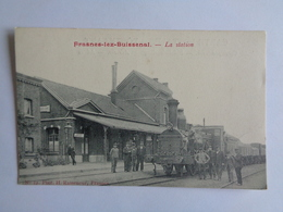 Frasnes Lez Buissenal - La Station - Frasnes-lez-Anvaing