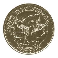 Monnaie De Paris , 2014 , Rouffignac Saint Cernin De Reilhac , Grotte , Mammouth Et Bouquetins - Monnaie De Paris