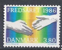 Danemark 1986 N°869 Neuf ** Année De La Paix - Nuovi