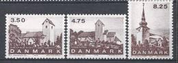 Danemark 1990 Série Neuve**  N° 989/991 églises Du Jutland - Nuovi