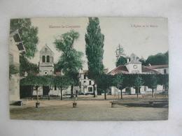 MARNES LA COQUETTE - L'église Et La Mairie - Other Municipalities