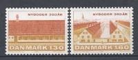 Danemark 1981 Série Neuve**  N° 731/732 Quartier Nyboder De Copenhague - Nuovi