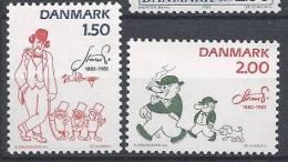 Danemark 1982 Série Neuve**  N° 767/768 Bandes Dessinées De Robert Storm Petersen - Nuovi