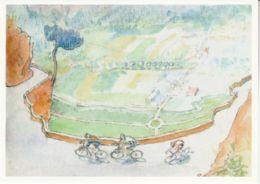 Postcard - Art - Toby Ward - Bike Ride On The D211 - New - Postcards