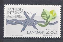 Danemark 1986 N°858 Neuf ** Amnesty International - Nuovi