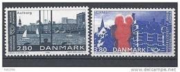 Danemark 1986 Série Neuve**  N° 872/873 Norden Villes Jumelées - Nuovi