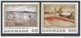 Danemark 1988 Série Neuve**  N° 935/936 Peintures - Nuovi