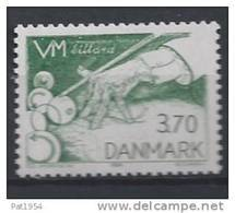 Danemark 1984 N°802 Neuf ** Championnat Du Monde Billard - Nuovi