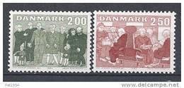 Danemark 1983 Série Neuve**  N° 788/789 Personnes Agées - Nuovi