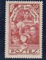 France - 1936 - N° YT 312** - Au Profit Des Enfants Des Chômeurs - Nuovi