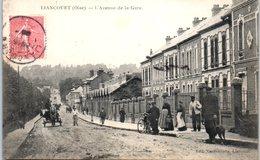 60 - LIANCOURT -- L'Avenue De La Gare - Liancourt