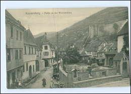 Y11219/ Elsaß Kaysersberg Partie An Der Weissbrücke AK - Elsass