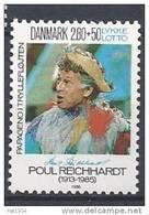 Danemark 1986 N°860 Neuf ** Surtaxe Pour Les Handicapés Physiques - Nuovi