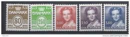 Danemark 1985 Série Neuve**  N° 824/828 Série Courante Avec Reine Margrethe - Nuovi