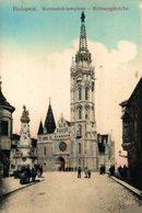 Budapest. Koronazo-templom- Kronungskirche. HUNGRIA - Hongrie