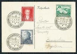 Alemania Bizona (S) 79/81 Postal A Argentina - Zona Anglo-Américan