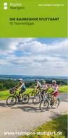 Stuttgart Die Radregion Stuttgart Fahrrad - Faltblatt 3 Seiten - Baden-Württemberg