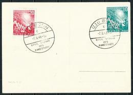 Alemania Federal (S) 1/2 Postal Con Matasellos 1º Día - [7] República Federal