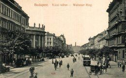 Budapest. Vaczi Korut. Hungria - Hongrie
