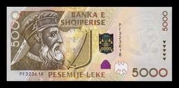 Albania 5000 Leke 2001 Pick 70 SC UNC - Albania