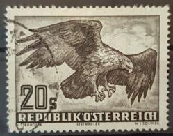 AUSTRIA 1950/53 - Canceled - ANK 973x, Mi 968x - Vögel - 1945-.... 2. Republik
