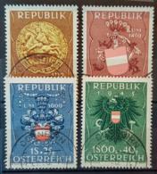 AUSTRIA 1949 - Canceled - ANK 949-952 - Complete Set! - 1945-.... 2. Republik