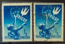 AUSTRIA 1949 - MLH And Canceled - ANK 945 - UNICEF - 1945-.... 2. Republik