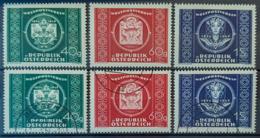 AUSTRIA 1949 - MLH And Canceled - ANK 955-957 - Complete Set - 1945-.... 2. Republik