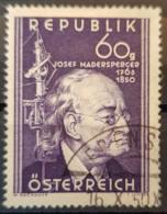 AUSTRIA 1950 - Canceled - ANK 963 - Madersperger - 1945-60 Used