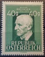 AUSTRIA 1949 - MLH - ANK 953 - Bruckner - 1945-60 Oblitérés