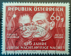 "AUSTRIA 1948 - Canceled - ANK 940 - 130 Jahre ""Stille Nacht"" - 1945-60 Oblitérés"