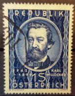 AUSTRIA 1949 - Canceled - ANK 959 - Millöcker - 1945-.... 2de Republiek