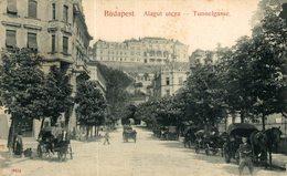 Budapest. Alagut Utcza. Hungria - Hongrie