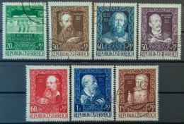 AUSTRIA 1948 - Canceled - ANK 924-93 - 80 Jahre Künstlerhaus - Complete Set! - 1945-.... 2. Republik