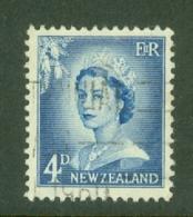 New Zealand: 1955/59   QE II   SG749   4d   Used - New Zealand