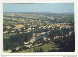 Carte ( Format 15 X 10,5 ) Aguessac ( Camping ) - Frankrijk