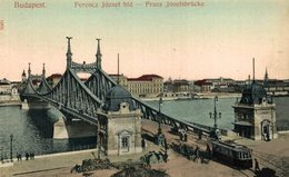 Budapest. Franz Josefsbrucke. Hungria - Hongrie