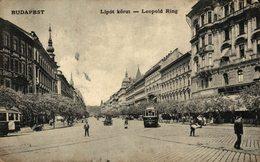 Budapest. Leopold Ring. Hungria - Hungría