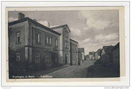 ALLEMAGNE Knetzgau A Main Schulhaus ( ATTENTION  Coin Découpé )   ( Recto Verso ) - Duitsland