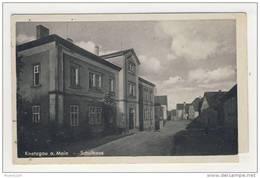 ALLEMAGNE Knetzgau A Main Schulhaus ( ATTENTION  Coin Découpé )   ( Recto Verso ) - Germania