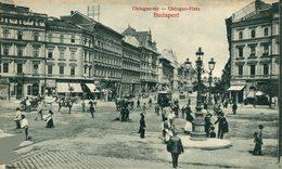 Budapest. Oktogon-Platz. Hungria - Hongrie
