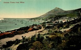 SUDAFRICA // SOUTH AFRICA. SIMONS TOWN FROM WEST - Sudáfrica