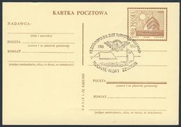 Poland Polska Polen 1978 Karte Card – XX Nationales Touristentreffen Eisenbahner, 1918-1978 / Tourist Meeting Railwaymen - Trains