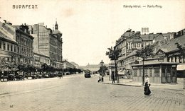 Budapest. Karls Ring. Hungria - Hongrie