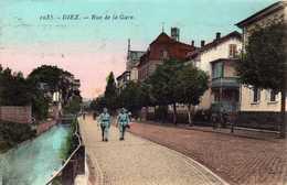 1035  - Dièz  - Rue De La Gare - Diez