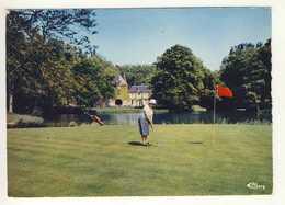 Carte  De  Gueux  Le Golf   ( Format 15 X 10,5 Cm )    ( Recto Verso ) - France