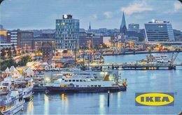 GERMANY Gift-card  IKEA - Kiel - Hafen - Cartes Cadeaux